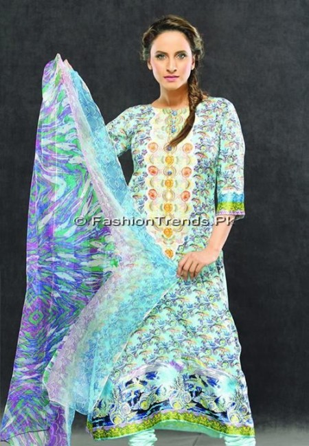 Laurein Girls Eid Collection 2013 (8)