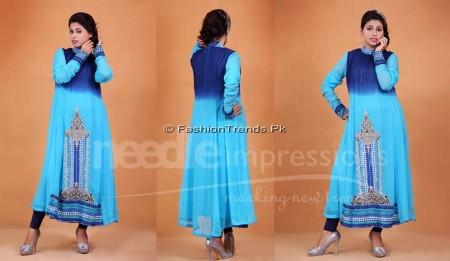 Needle Impressions Premium Eid Dresses 2013 (2)