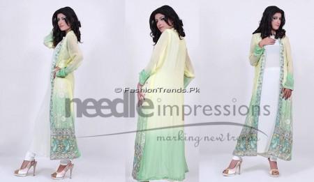 Needle Impressions Premium Eid Dresses 2013 (3)