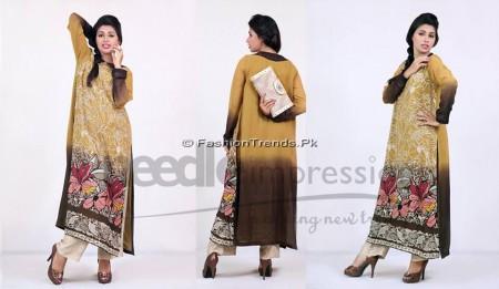 Needle Impressions Premium Eid Dresses 2013 (5)