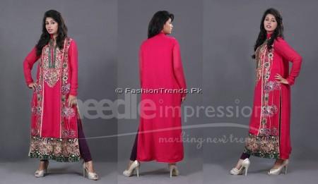Needle Impressions Premium Eid Dresses 2013 (6)