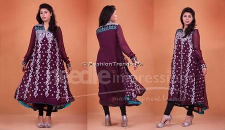 Needle Impressions Premium Eid Dresses 2013 (8)