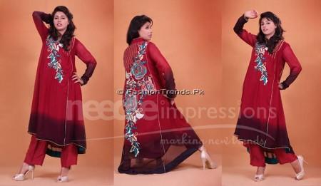 Needle Impressions Premium Eid Dresses 2013 (9)