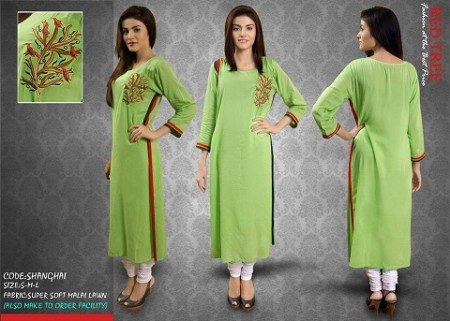 Red Tree Eid Collection for Girls 2013