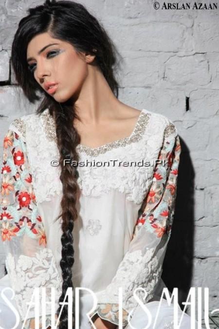 Sahar Ismail Clothing Eid Dresses 2013 (1)
