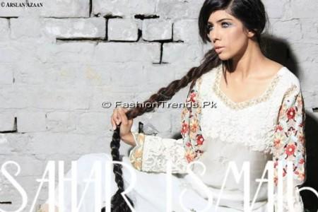 Sahar Ismail Clothing Eid Dresses 2013 (2)