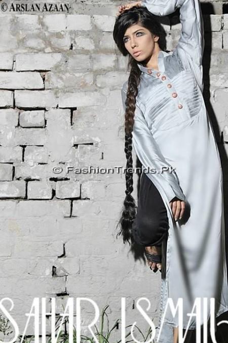 Sahar Ismail Clothing Eid Dresses 2013 (4)