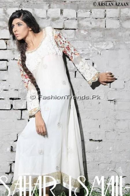Sahar Ismail Clothing Eid Dresses 2013 (5)