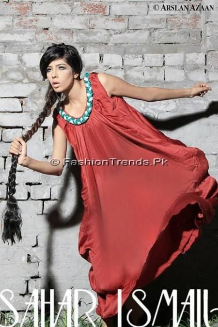 Sahar Ismail Clothing Eid Dresses 2013 (6)