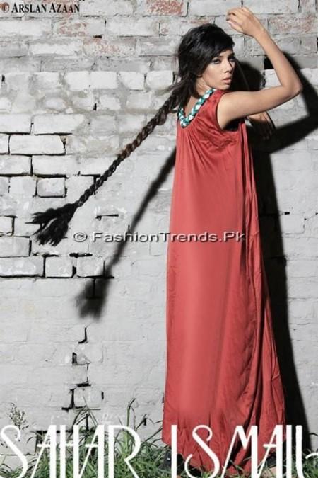 Sahar Ismail Clothing Eid Dresses 2013 (7)