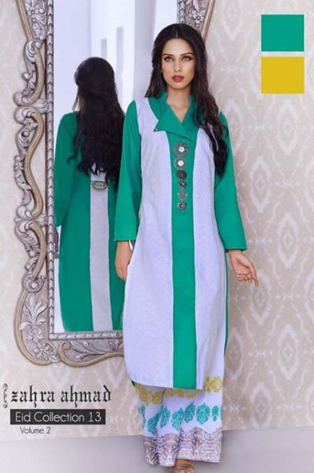 Zahra Ahmed Women Eid Collection 2013