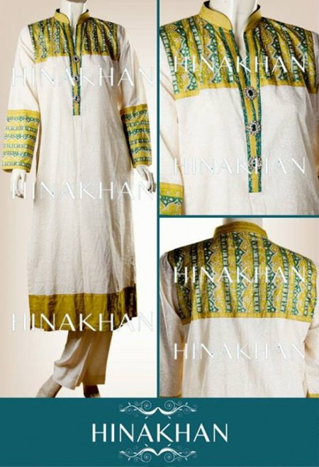 Hina Khan Midsummer dresses 2013 for Women