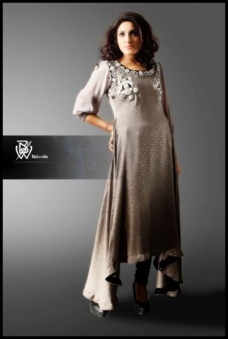 Black and White Couture Formal Wear Collection 2013