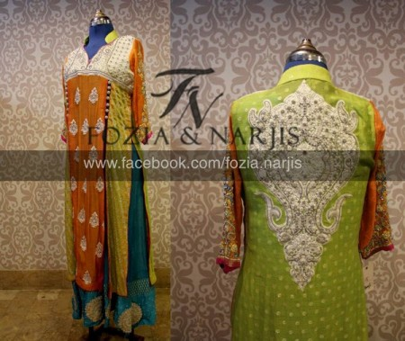 Fozia & Nargis Women Formal Wear Collection 2013 pics