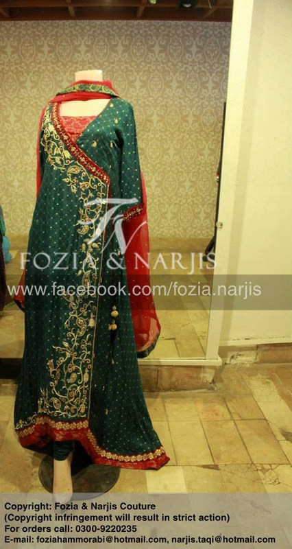 Fozia & Nargis Women Formal Wear Collection 2013