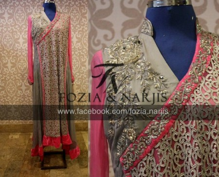 Fozia & Nargis Women Formal Wear Collection 2013 snap