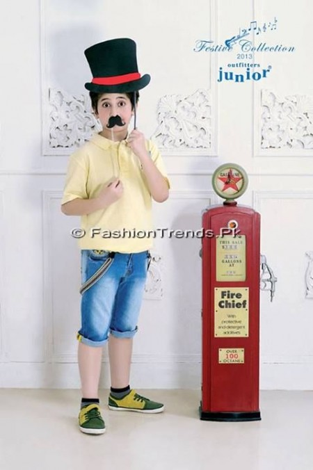 Outfitters Junior Festive EID Collection 2013 (2)