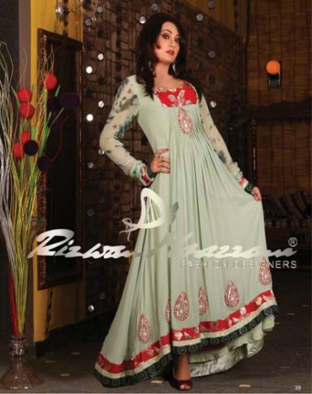 Rizwan Moazzam Formal Wear Dresses 2013