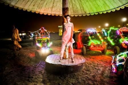 Aarai Bakra Eid Party Dress Collection 2013