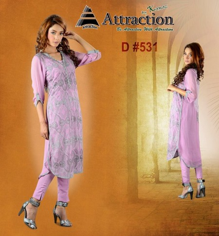 Attraction by Kamal Women Summer Collection 2013