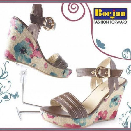 Borjan Shoes Bakra Eid Handbags, Sandals Collection 2013