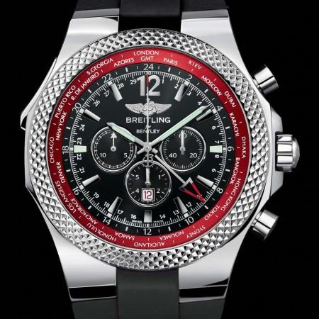 Breitling Bentley Watch Silver Color
