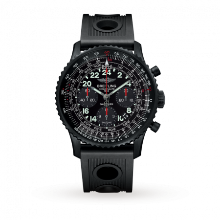 Breitling Fully Automatic Watch Black Color