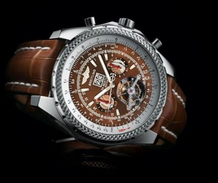 Breitling Fully Automatic Watch Brown Color