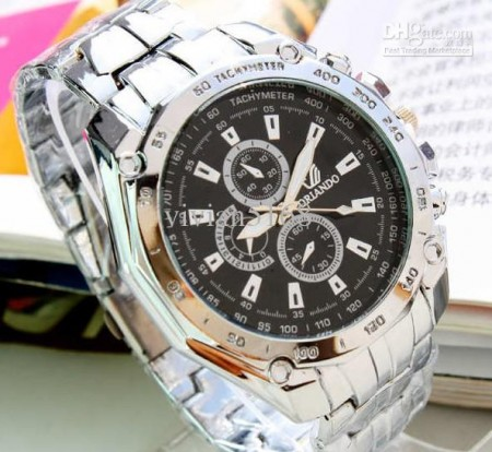 Clearance Watch Silver Color