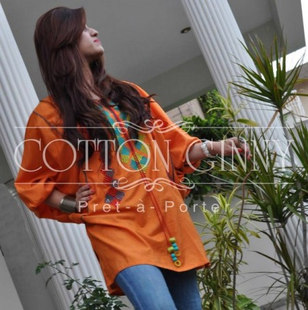 Cotton Ginny Tunics Collection 2013 Bakra Eid Party