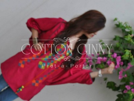 Cotton Ginny Tunics Collection 2013 Bakra Eid Party picture