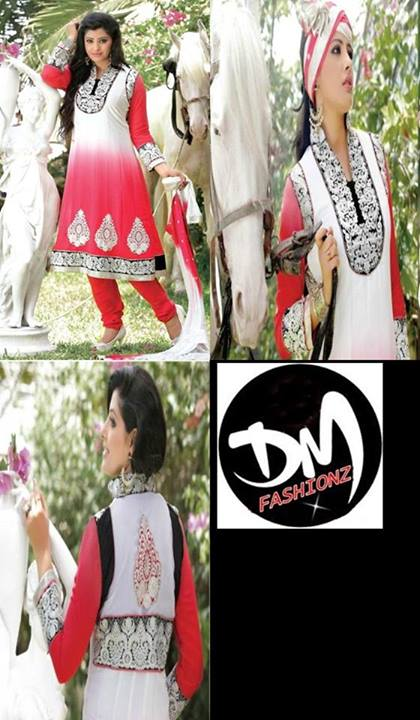DMS-Mid-Summer-Frocks-Design-2013-2014-Women-Wear-Collection