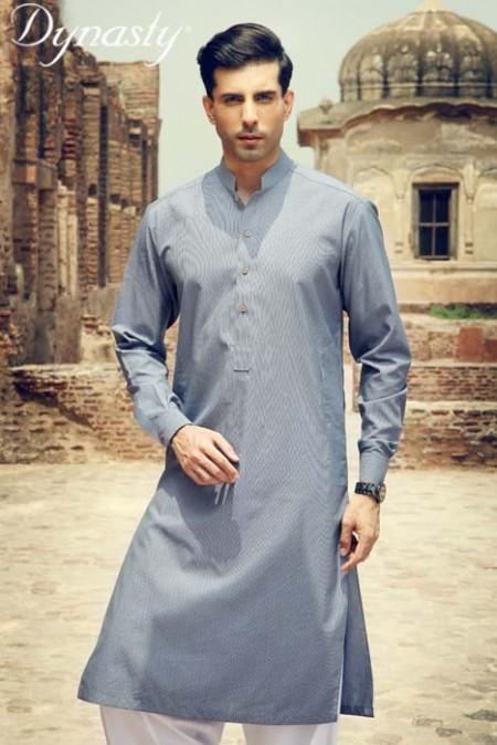 Dynasty Fabric Men Summer Wear Fashion Dress Collection 2013-2014 photo