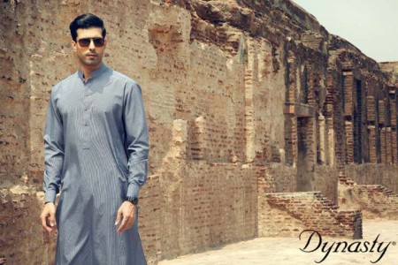 Dynasty Fabric Men Summer Wear Fashion Dress Collection 2013-2014 picture