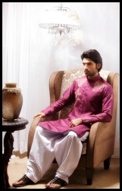 Emran Rajput Men's Kurta Collection 2013 picture