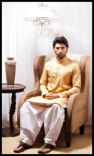 Emran Rajput Men's Kurta Collection 2013 photo