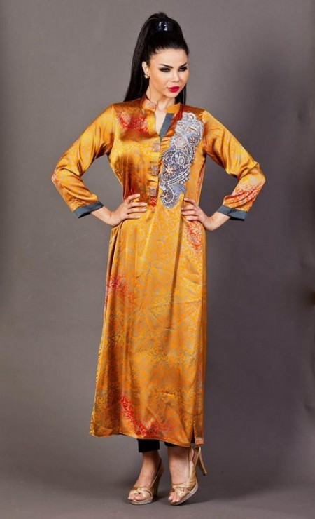 Ethnic by Farhat khan fall collection 2013 for women