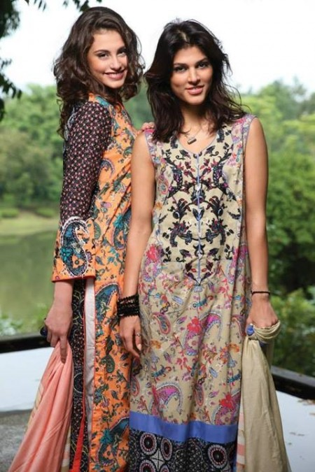 LSM Fabrics Fall Winter Collection 2013 for Women