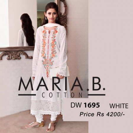 Maria B Winter Cotton Dresses Design 2013-2014 wallpaper