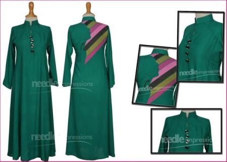 New Casual Wear Dresses 2013 green dress