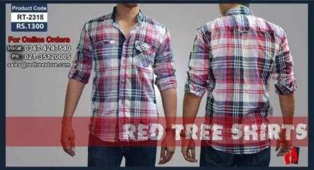 Red Tree Casual Tee Shirt Collection 2013 for Men