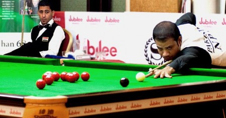 Asif & Sajjad in Snooker World Championship