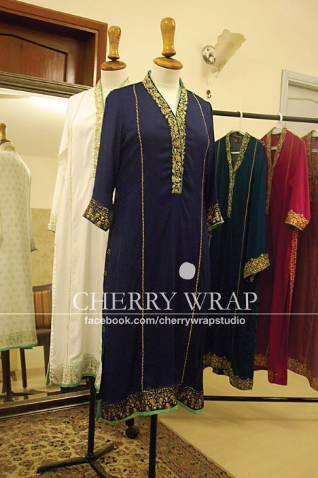 Cherry Wrap Eid ul Azha Dresses 2013 for Women