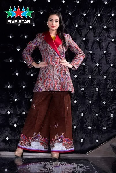 Five Star Textile Fall Winter Collection 2013 for Girls