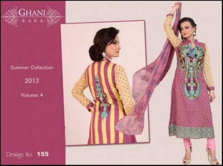 Ghani Textile Autumn Women Collection 2013