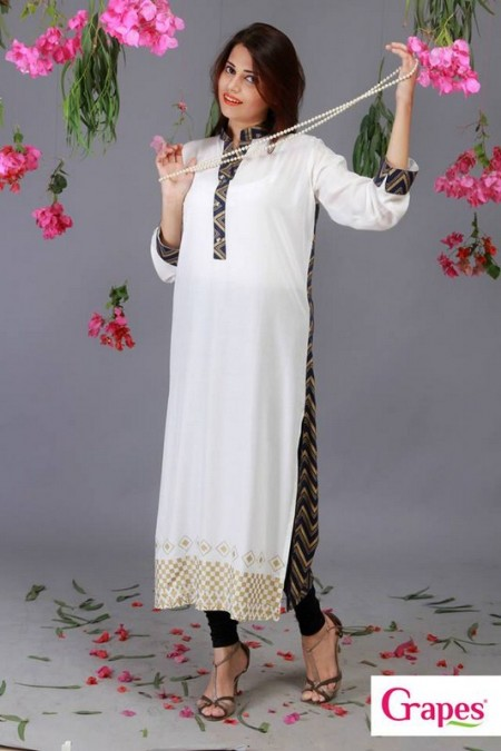 Brand Digital Prints Kurta Collection 2013 For Women