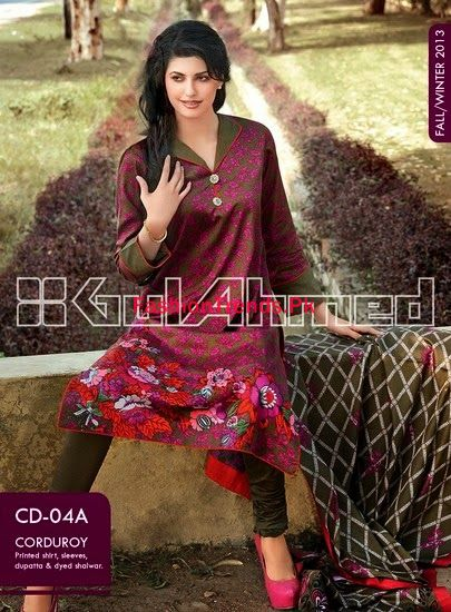 Gul Ahmed Fall Winter Collection