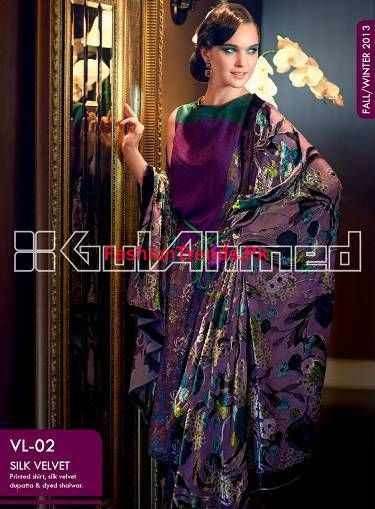 Gul Ahmed Women Dresses Collection 2013