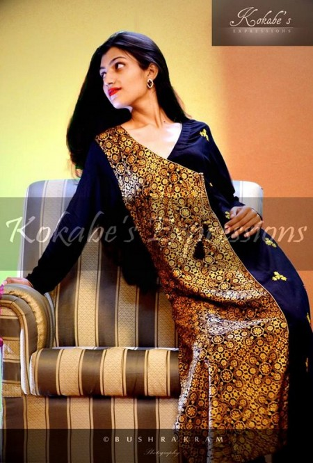 Kokabe's Expressions Eid Ul Azha Collection 2013 for Women