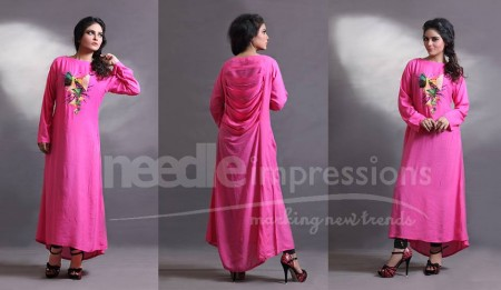 Needle Impressions Eid Collection 2013 for Girls